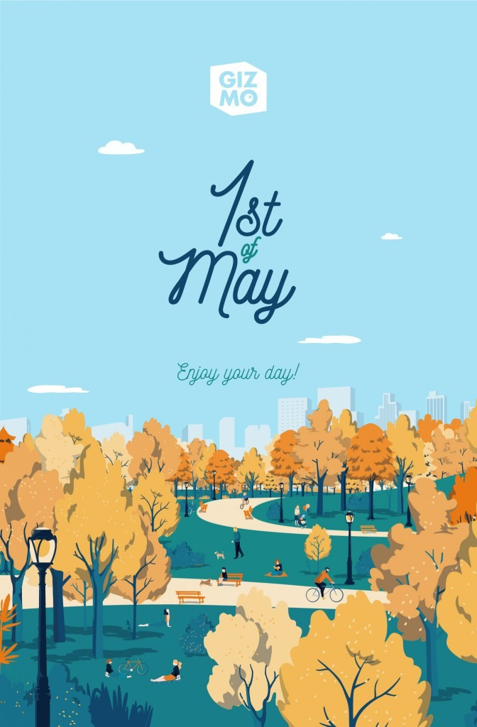 Happy 1st of May!