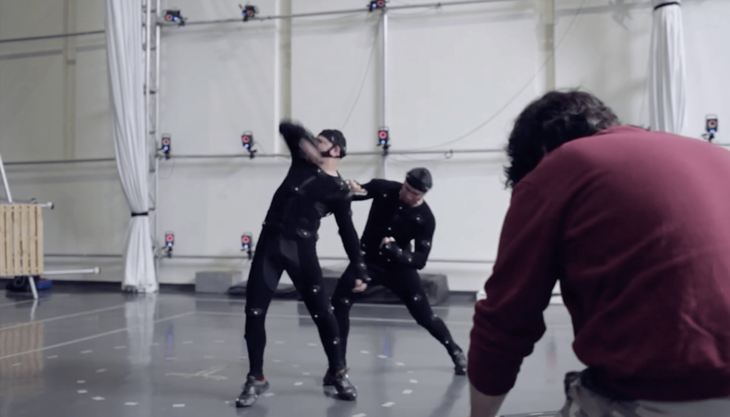 Mocap Session for a new cinematic