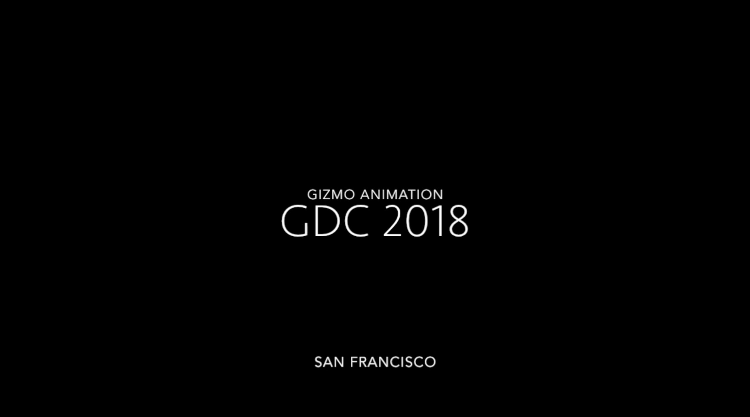 GDC 2018!