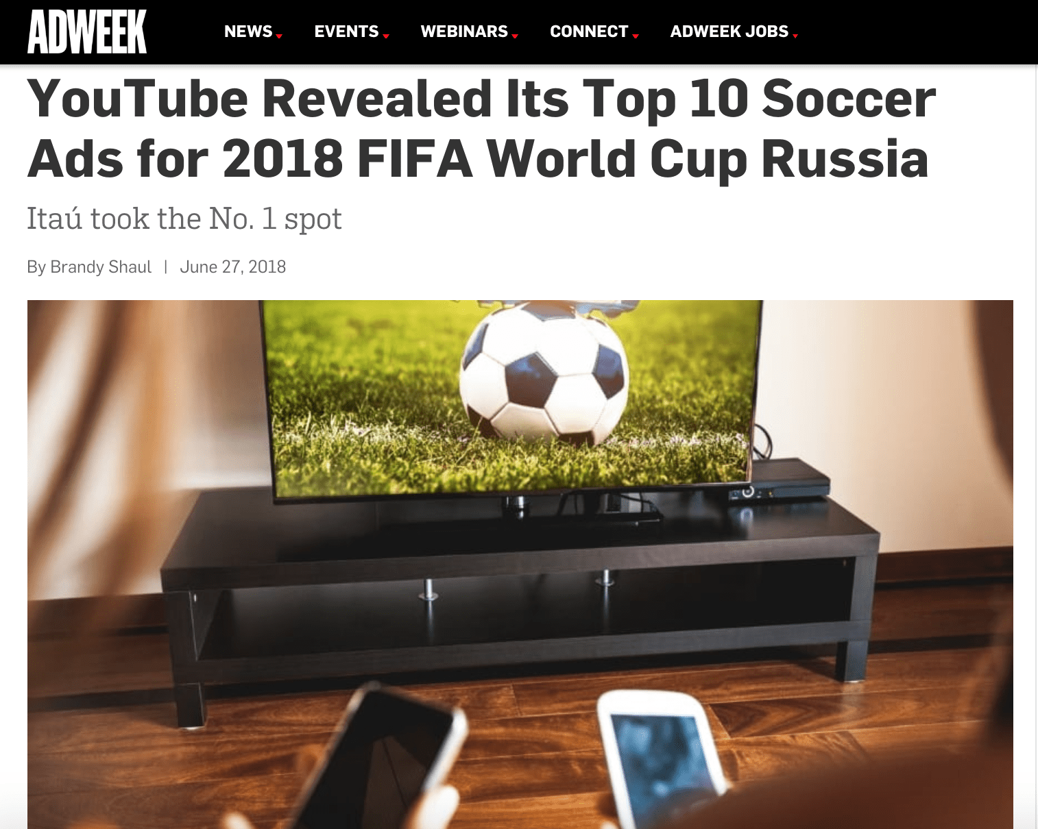Top 10 Soccer Ads