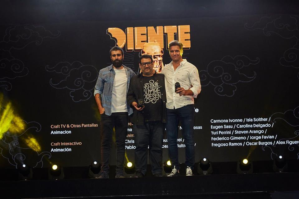 Entrega de Premios Diente 2018!