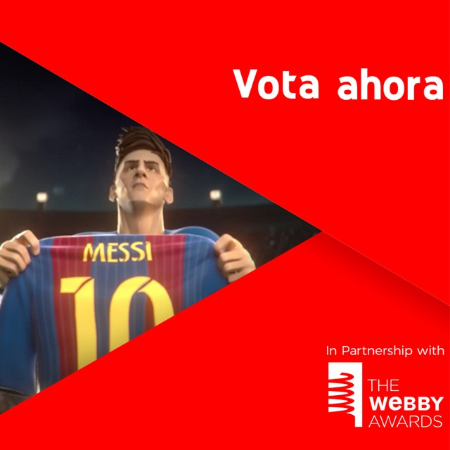 #HeartOfALio nominado por WEBBY AWARDS a ser el YOUTUBE AD OF THE YEAR!