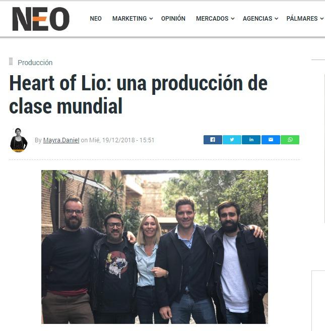 Entrevista en Revista NEO
