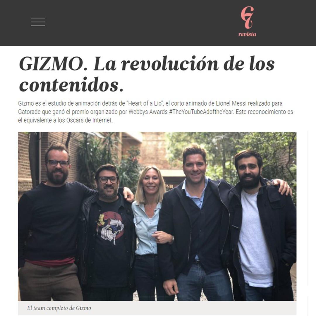 GIZMO EN LA REVISTA G7!