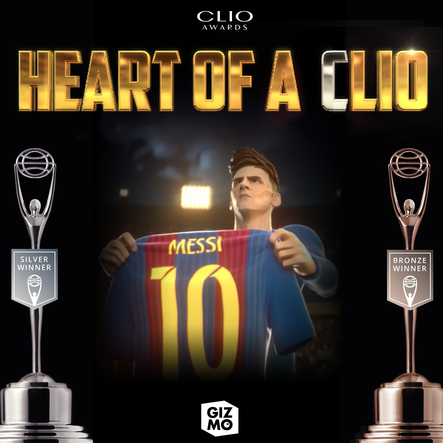 HEART OF A LIO WINNER OF #CLIOAWARDS!!!