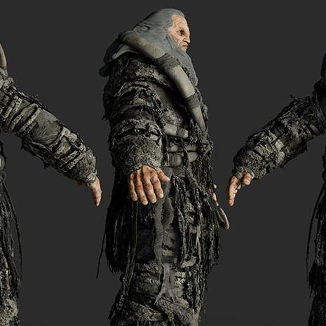 Giant Character Look Development – GOT-Conquest